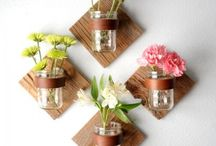 ✪ DIY Mason Jar Projects / Awesome ideas to decorate your home with Mason Jars. DIY projects, crafts and other stuff.