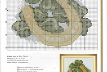 x stitch spring & easter