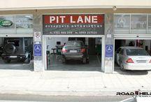 PIT LANE / Συνεργείο αυτοκινήτων με ειδίκευση σε Mercedes Benz, Jaguar,  Land Rower, Group VW στη Θεσσαλονίκη