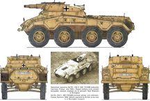 WW2 - SDKFZ 234/3 / Sd.Kfz.234 (Sonder Kraftfahrzeug lub Puma) – seria niemieckich 8-kołowych, ciężkich samochodów pancernych uzbrojony w armatę 7,5 cm KwK 37 L/24 kalibru 75 mm.