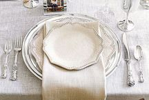 Table setting / by Elaine Shaw