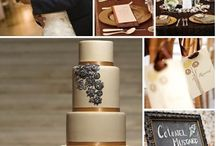 Bronze Wedding / Weddings with a Bronze Colour Palette