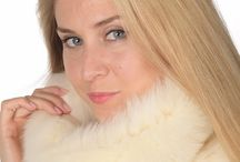 Real Fox fur neck warmers / Fox fur neck warmers. Real fur accessories. Handmade in Italy. Top Quality.  www.amifur.com