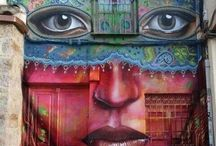 Street art and buildings / by Liz Kysar