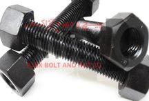 Stud Bolt / Ajax Bolt Co. is an Iranian Manufacturer of stud bolts ASTM A193 B7, B8, B8M , B16