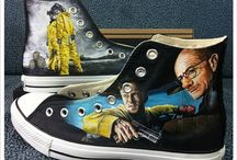 Custom Converse Shoes / Chuck Taylor All Stars by Converse are the ultimate shoes. Customized more over the years by all levels of artists these are some of the best we've found online! / by PaintOrThread.com