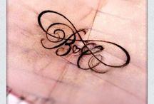 Tattoo's / by Rebekah Mathews