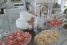 festa noivado elegante