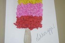 Markt snoep /ijs