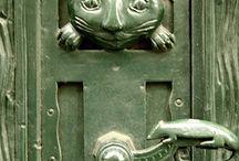door knockers and knobs