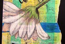 výtvarka křídami