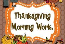 November/Thanksgiving / by Roxanne Baca