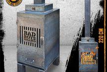 Buitenhaarden-Bad Boys Brand / Buitenhaard, BBQ, Tuinhaard