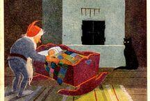 KIRSTI LIIMATAINEN / Kirsti Liimatainen (1901 - 1964)  Karjalapatsas Tampereella syntynyt Kirsti Liimatainen suoritti taideopintonsa Ateneumissa vuosina 1933-35. Uransa aikana hän kuvitti useita teoksia, sarjakuvia sekä lasten kirjoja. Liimatainen tuli tunnetuksi myös postikorttitaiteilijana. Uskonnolliset aiheet olivat hänen erikoisalaansa.  Kirsti Liimataisen suunnitelemia Karjalaan jääneiden vainajien muistomerkkejä on mm. Rovaniemellä, Haapamäellä, Jämsässä ja Nokialla.