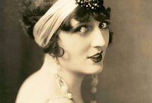 20's style hair and make-up