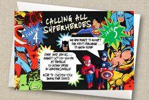 Justin 3rd birthday ideas?!?! / Ideas for Justin's3rd Birthday party : Superheros