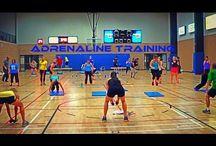 Circle workout groupe