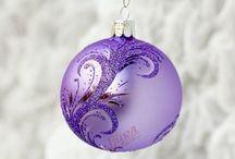 Vánoční ozdoby - Christmas decorations