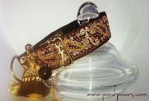 Posh Pawz Martingale Dog Collars / Custom Designed Couture for all breeds~