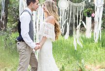 Outdoor wedding ideas / Wedding