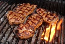 Barbecue / Pork chops
