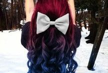 Beautiful hair colors