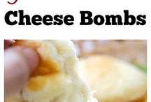 Garlic Herbert Cheese Bombs (Canned Biscuits)