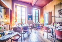 La restauration / Vous verrez ici les nombreuses photographies de notre cuisine, de nos préparations, des lieux où nous vous accueillons.