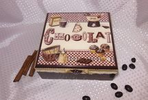 Chocolate Decoupage and Sweets / Decoupage in sweets and chocolate theme.