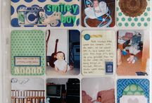 Project Life Layouts / A sampling of my scrapbook layouts