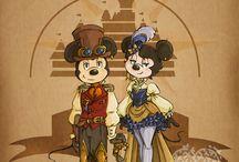 Steampunk Disney