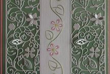 Ann's Paper Art/Tattered Lace / Cards made using Ann's Paper Art stitching patters combined with Tattered Lace Dies.