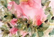AIDA SUBIRÀ acuarelas / Nos sorprendió en su primera exposición del año pasado la forma decidida de componer, de cómo dejaba caer el agua sobre el papel creando un universo frágil con armonía, de la riqueza en la gama de colores y de cómo dejaba respirar la luz delicadamente entre las hojas y los pétalos de sus temas de flores en sus cuadros. No se pierdan este explosión de color de esta joven artista AIDA SUBIRÀ Pensamos que es la mejor manera de empezar este año 2017.