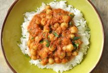 Pois chiche au curry