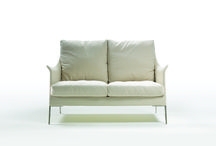 BOSS COLLECTION / FLEXFORM | small sofa, swiveling armchairs, armchairs, ottoman.