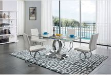 Modern Stainless Steel Dining Table Florida