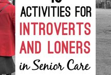 Activities for Elders / Let's keep our bodies moving and our minds engaged.
