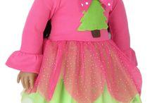 American Girl/Boy Christmas Outfits / Christmas outfits for American Girl and Boy Dolls.