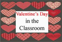 Valentine's Day Classroom / Valentine's Day ideas for your classroom. / by Tree Top Secret Education
