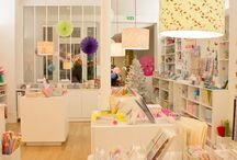 {craft shop interior} my h♡ppy place... a dream come true! living your heart ♡