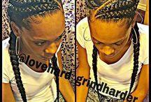 Zaryah hair