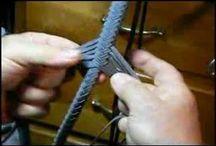papírové pletení video