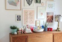   Cozy Corner Decor   / cozy, corner, interior, design, wall art, home sweet home, living, art