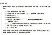 Harry Potter AU's