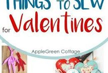 Valentine's Day Crafts / Valentine's crafts, art, cards, sewing, ornaments, decorations, ideas for your loved one.