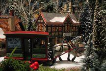 Village de Noël 2013, de Connie de Groot... / Toutes les photos ici: https://plus.google.com/photos/109606449019934098267/albums/5952901267059412737