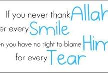 My creator , Allah <3