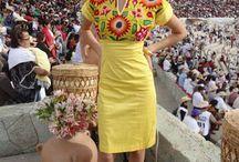 vestidos artesanales.