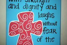 Inspirational words / Religious
