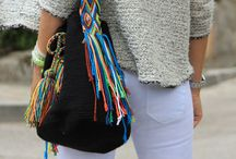 Wayuu mochila and tapestry crochet
